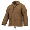 Rothco 3896 Coyote Brown Military M-65 Field Jacket | ArmyNavyUSA.com