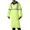 Rothco Lime Green Reversible Reflective Rain Parka - 3900