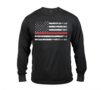 Rothco Long Sleeve Thin Red Line T-Shirt 3920