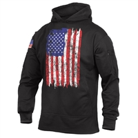 Rothco 4166 US Flag Concealed Carry Hooded Sweatshirt