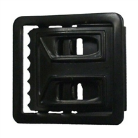 Rothco Black Open Face Web Belt Buckle - 4403