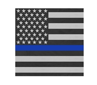 Rothco Thin Blue Line Flag Bandana 44074
