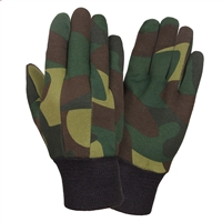 Rothco Camouflage Jersey Gloves - 4414