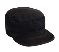 Rothco Black Vintage Fatigue Cap - 4503