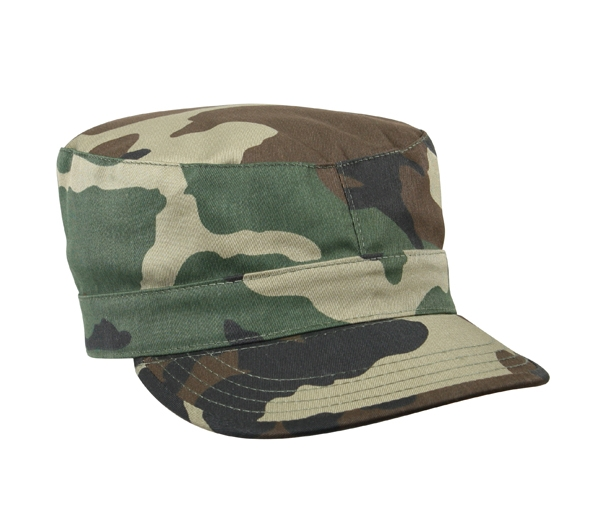 9b10f9c0c68 Rothco Woodland Camo Fatigue Cap - 4510. View Larger Photo