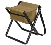 Rothco Coyote Brown Deluxe Stool - 45460