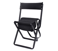 Rothco Black Stool with Pouch 4608