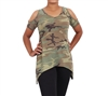 Rothco Women Camo Cold Shoulder Top 4610