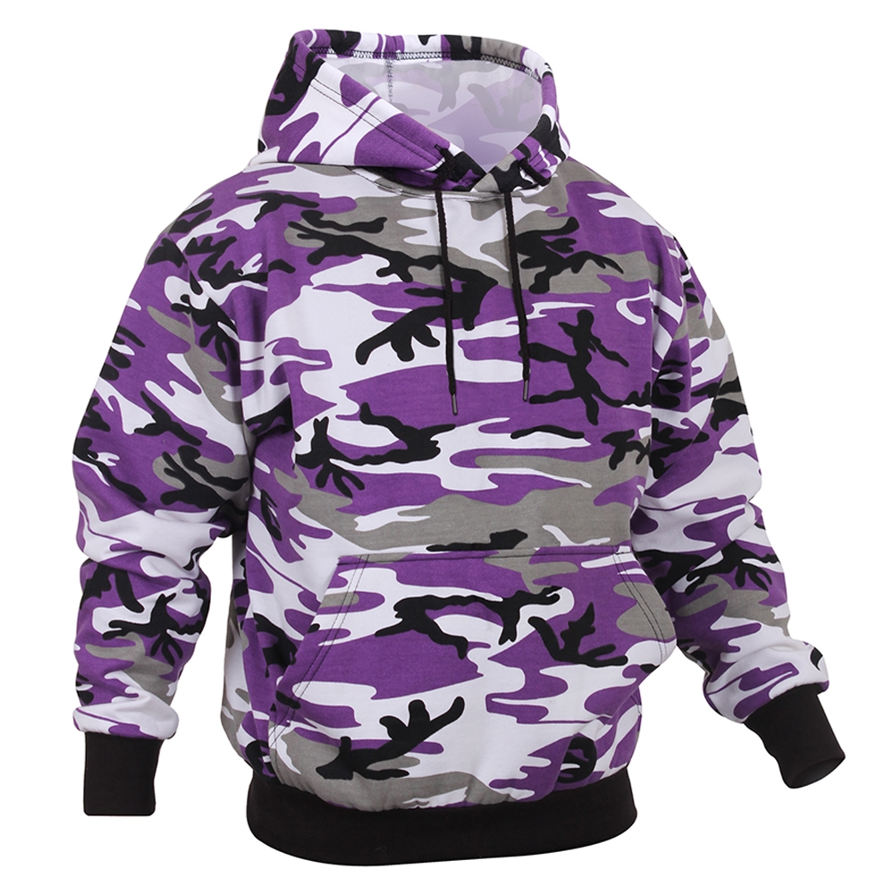 Rothco 4790 Purple Camouflage Pullover Hooded Sweatshirt 7d182a42db82