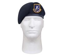 Rothco Inspection Ready Beret With USAF Flash 4898