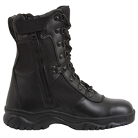 Rothco 5053 Black Forced Entry Side Zip Tactical Boots