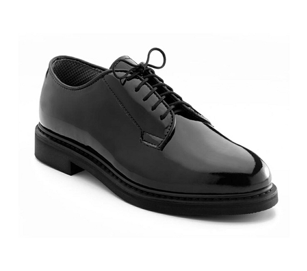 5055 Rothco High Gloss patent leather Dress Uniform Oxford Shoes 08fafc14864