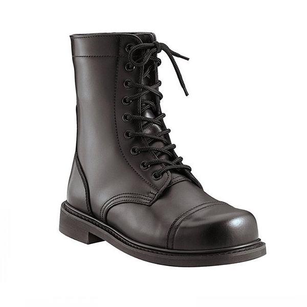"Combat Boot  Black 9/"" GI Type Leather Rothco 5075"