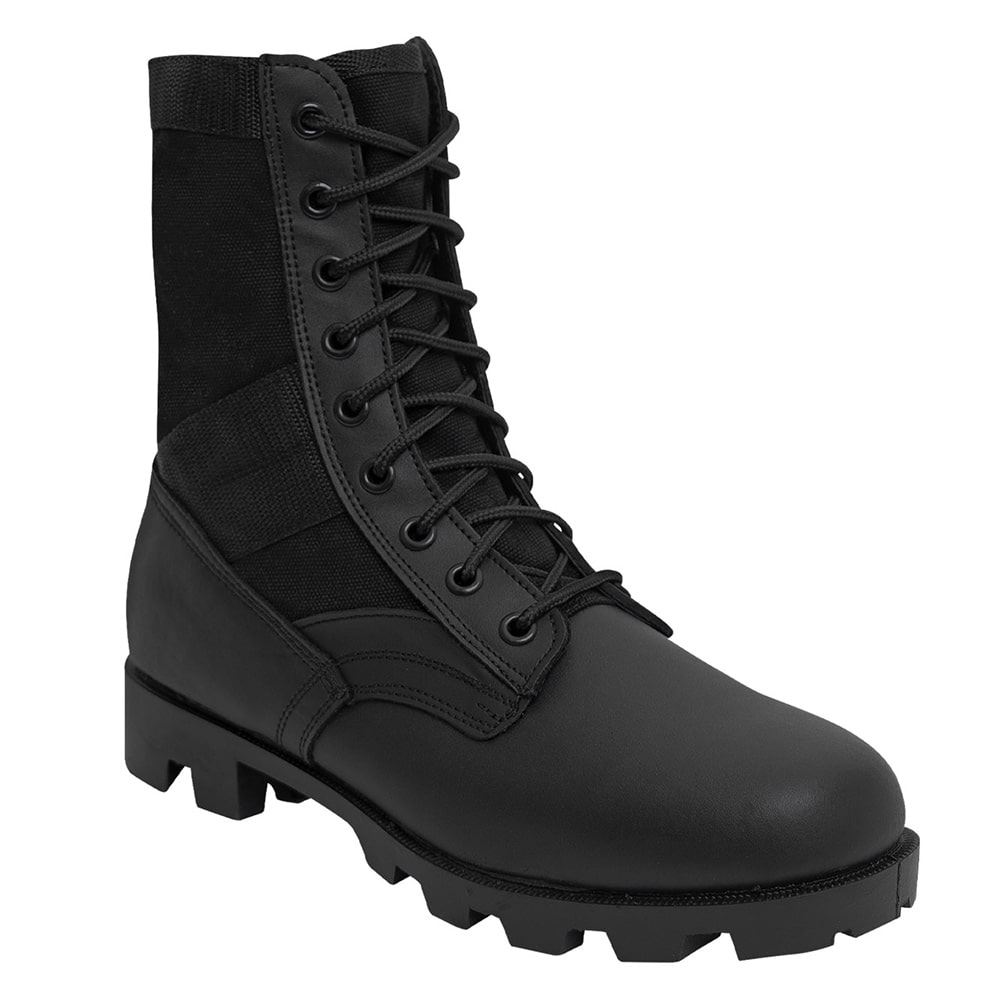 Rothco GI Style Military Jungle Black Boots - 5081. View Larger Photo 70c05af09d5