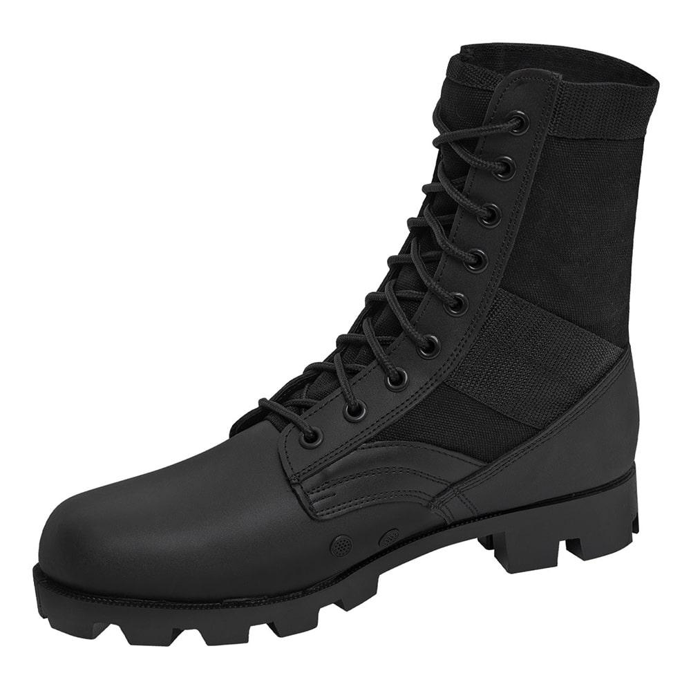 af8e1b26cce9 5081 Rothco GI Style Military Jungle Black Boots 5081