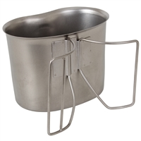 Rothco Gi Style Stainless Steel Canteen Cup - 512