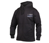 Rothco Black Thin Blue Line Concealed Carry Hoodie 52071