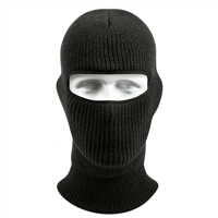Rothco Black Wintuck One Hole Face Mask - 5515