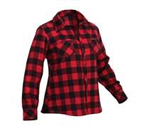 Rothco Women Plaid Flannel Shirt 55739