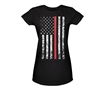 Rothco Women Thin Red Line Longer T-Shirt 5698