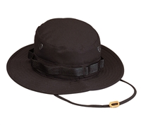 Rothco Black Rip Stop Boonie Hat - 5819
