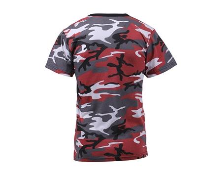 Kids USMC Marine Desert Digital Camouflage Short Sleeve Military T-Shirt 6578