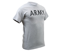 Rothco Grey Army Pt T-Shirt - 6080