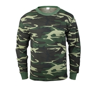 Rothco Woodland Camo Thermal Top - 6100