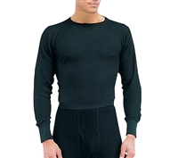 Rothco Black Thermal Underwear Top - 63632