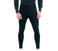 Rothco Black Thermal Underwear Bottom - 63642