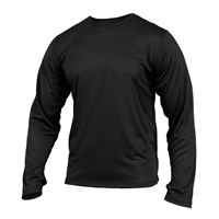 Rothco Black Silk Weight Top - 64020