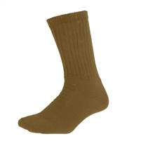 Rothco Coyote Brown Crew Socks - 6427