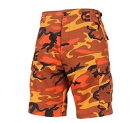 Rothco Savage Orange Camo BDU Shorts  65004