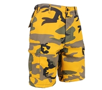 Rothco Stinger Yellow Camo BDU Shorts 65007