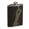 Rothco Woodland Camo Stainless Steel Flask - 651
