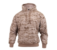 Rothco 6525 Digital Desert Camouflage Pullover Hooded Sweatshirt