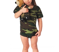 Rothco Infant Woodland Camo One Piece - 66055
