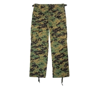 Rothco Kids Digital Woodland Camo BDU Pants - 66115