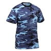 Rothco Kids Sky Blue Camo T-Shirt - 6707
