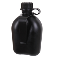 Rothco Black 1 Qt Canteen With Clip - 673