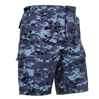 Rothco Blue Digital Camo BDU Shorts - 67313