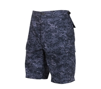 Rothco 68213 Midnight Digital Camo BDU Shorts