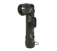 Rothco Woodland Camo Angle Head Flashlight - 691