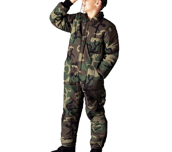 Rothco Kids Camouflage Insulated Coveralls - 7013 d855e603836