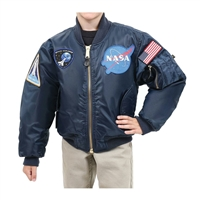 Rothco Kids NASA MA-1 Flight Jacket - 7063
