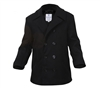 Rothco Black Pea Coat - 7070