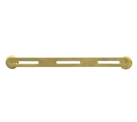 Rothco 3 Ribbon Brass Mount - 71003