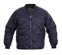Rothco Navy Diamond Quilted Flight Jacket - 7160