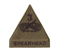 Rothco Subdued Spearhead 3rd Armored Patch - 72106