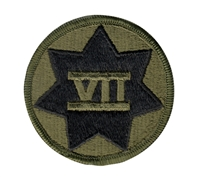 Rothco Subdued 7th Corps Patch - 72135